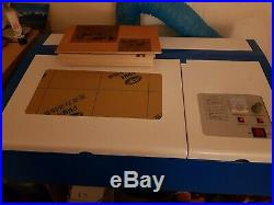 40w co2 k40 laser engraver cutter usb cutting engraving includes