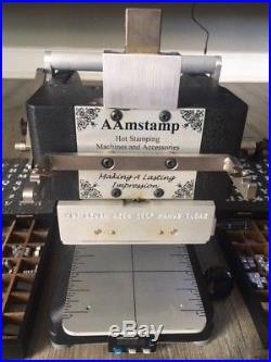 AAmstamp Hot Stamping Machine & Accessories