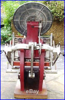 ADANA LETTERPRESS PRINTING MACHINE Model 8x5 in Working Order with New Rollers