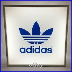 Adidas Large 67cm Light box Sign Or Adverts Collectors from Famous London Shop