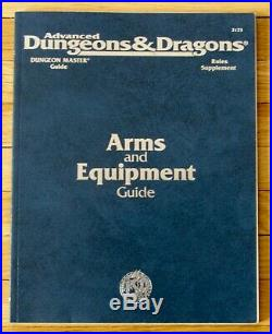 Advanced Dungeons & Dragons ARMS AND EQUIPMENT GUIDE 1994 5th printing L12