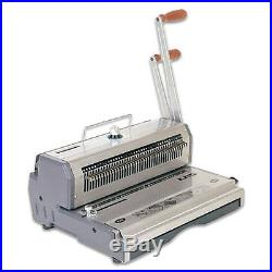Akiles WireMac-31 14 31 Pitch Wire Binding Machine & Punch withbox of Binders