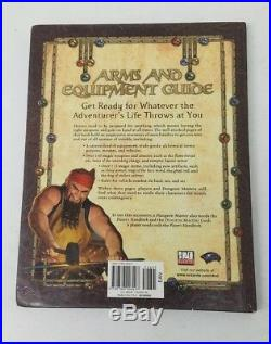 Arms & Equipment Guide Dungeons & Dragons 2003 First Printing Hardcover Book