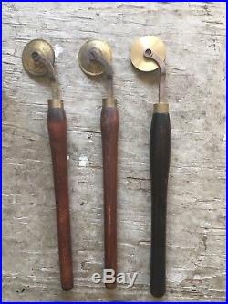 Brass Finishing Tools For Leather Bookbinding