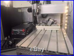 CNC machine engraving modified 3040t with limit switches and mach3 software