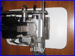 Howard Imprinting Machine Hot Stamping Model 150 Personalizer System