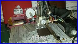 Howard Personalizer Imprinting Machine, SN 18396. WITH a full set of type. + ex