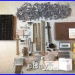 Huge Lot of Vintage Kingsley Machine Parts & Accessories! Save! Free USA Ship