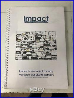 Impact Vehicle Graphic Software Outline Version 2016 Can Upgrade to 2017 2018