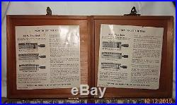 KINGSLEY MACHINE TYPE-GOUDY CURSIVE 18PT. LOWER & UPPER CASE With BOX