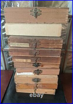Kingsley Hot Foil Machine Letters, Special Characters, parts, huge lot 10 boxes