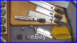 Kingsley Hot Foil Stamping Embossing Machine Set With Extras