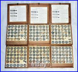 Kingsley Lot of 6 Boxes Hot Foil Stamping Machine Type Font in Original Case