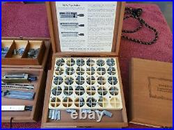 Kingsley M-50 Hot Foil Stamping Machine Types/Holders/Boxes + More