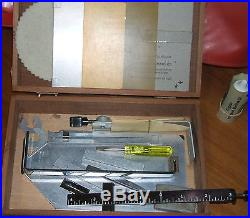 Kingsley M-60 Hot Foil Stamping Machine with extras, foil, emblems tools & more