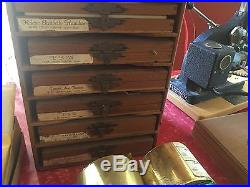 Kingsley stamping machine. Vintage Hot Foil Stamping Machine And Accessories