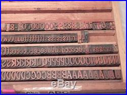 Letterpress Wood Type Dom Casual 6 Line (1) 10A, 6a