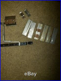 Lot of Kingsley Hot Foil Stamping Machine type with misc. Parts