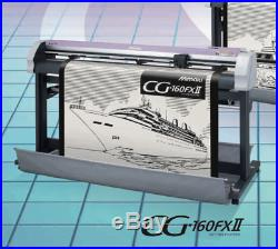 MIMAKI CG FX2 160 1600mm Wide Vinyl Cutter Plotter EXCELLENT SLIGHTLY USED ONLY