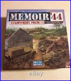 Memoir 44 Equipment Pack 100% Complete Out of Print! Very Rare