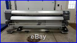 Mutoh ValueJet 2606 104 inch printer with HD takeup roland mimaki epson graphtec