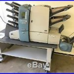 PITNEY BOWES DI-600 FastPac Inserter Folder System + DIVS Vertical Power Stacker