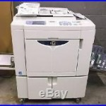 Riso MZ1090 2 COLOR High Speed Digital Duplicator NETWORKED Tested & Working
