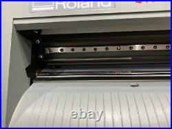 Roland Camm-1 CX-24 24 Vinyl Cutter, Not Tested Sold As Is