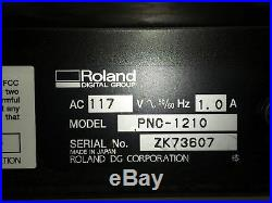 Roland Camm-1 Pro Pnc-1210 24 Vinyl Cutter/plotter Sign Maker Adhesive Decal