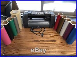 SEIKI SK375T 14 375mm Vinyl Cutter Plotter Comes With Vinyl In Picture Business