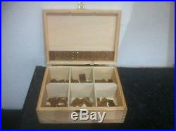 These are Gravograph engraving machine Brass Letters
