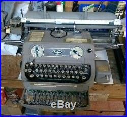 Varityper Antique Typesetting Machine 610 With Typefaces Books Manuals Ribbons