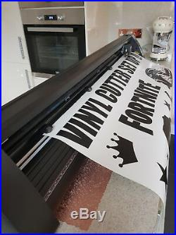 Vinyl Cutter & Computer Business In A Box Plotter Signs Stickers Wall Decals Lrg