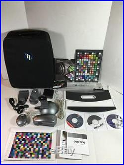 X-RITE EYE-ONE I1 SPECTROPHOTOMETER With CASE, SOFTWARE & ACCESSORIES