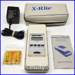 X-rite 331 Transmission Densitometer Battery Operated B/W Xrite 331 Excellent